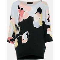 M&S Phase Eight Womens Floral Slash Neck Batwing Sleeve Jumper - XS - Green Mix, Green Mix
