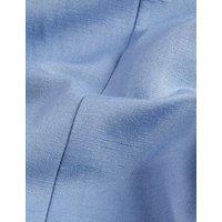 MandS Jaeger Mens Regular Fit Silk Linen Jacket - 38REG - Light Blue, Light Blue