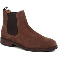 M&S Jones Bootmaker Mens Leather Pull-on Chelsea Boots - 6 - Brown, Brown