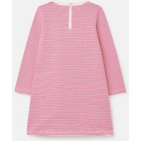 M&S Joules Girls Pure Cotton Striped Pony Dress (2-8 Yrs) - 2y - Pink Mix, Pink Mix