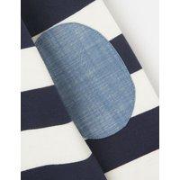 M&S Joules Boys Cotton Striped Sweatshirt (2-8 Yrs) - 2y - Navy Mix, Navy Mix