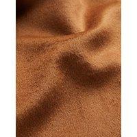 MandS Jaeger Womens Pure Wool Car Coat - 8 - Brown, Brown,Pink