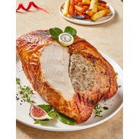 British Oakham Turkey Crown with Pork, Chestnut, Bacon & Thyme Stuffing- Last day to Collect 20th December