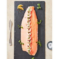 Poached Dressed Scottish Lochmuir Salmon (Serves 6-8)