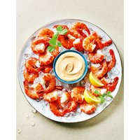 Easy-Peel Black Tiger Crevettes with Dip (Serves 4-6)