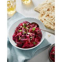 Pickle Beetroot with Smashed Beetroot & Cumin, Red Onion & Dukkah-Spiced Sunflower Seeds (Serves 6)