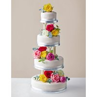 Traditional Wedding Cake - Medium Tier (Serves 16-24)