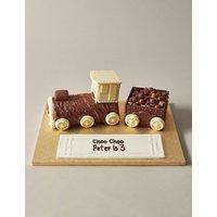 Personalised Extremely Chocolatey Express Train Cake (Serves 22)