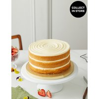 Vanilla Naked Cake (Serves 20) at Marks and Spencer Online