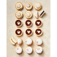 British Teatime Cake & Pastry Selection (18 Pieces)