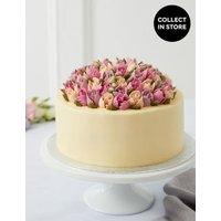 M&S Flower Festival Tulip Cake (Serves 24)