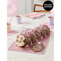 Personalised Connie the Giant Caterpillar Cake (Serves 40)