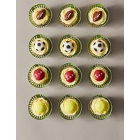 Sports Ball Cupcakes (Serves 12)