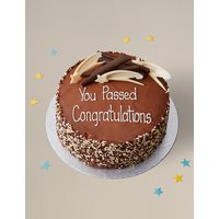 Personalised Gluten Free Extremely Chocolatey Party Cake (Serves 16)