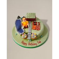 Personalised Gardening Cake (Serves 32) - Last day to Collect 7th February