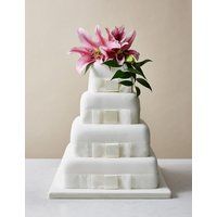 4 Tier Elegant Wedding Cake (Serves 190-200)