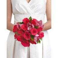 M&S Orchid & Rose Collection - Bridesmaid Bouquet