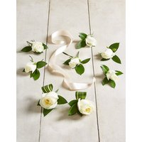 The Collection White Rose - Buttonhole Wedding Party Package
