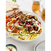 Roasted Aubergine & Sweet Potato Salad (Serves 4-6)