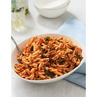 Pasta, Red Pepper & Sundried Tomato (Serves 6-8)
