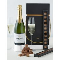 Oudinot Champagne and Chocolate Gift Box