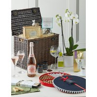 Luxury Hamper with Orchid.