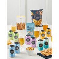 M&S Craft Beer & Snacks Selection