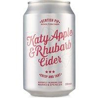 Kentish Pip katy Apple & Rhubarb Cider - Case of 12
