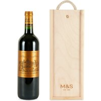 Ch teau d'Issan 2014 - Single Bottle with Wooden Presentation Box