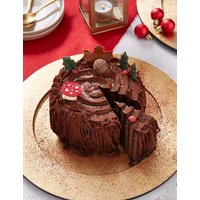 Woodland Yule Log (Serves 10) - Available to collect between 6th and 20th December