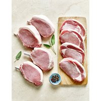Breckland White Pork Chop Box (Serves 8)
