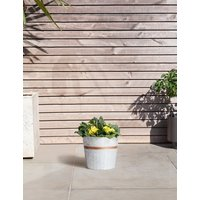 Spring Flower Barrel