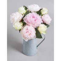 White Rose & Peonies Jug