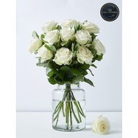 The Collection White Avalanche Rose Bouquet