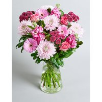Mother's Day Pink Bouquet (Available for delivery from 28th March 2019)
