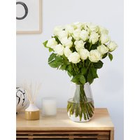 Fairtrade White Rose Bouquet.
