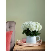 White Hydrangea Jug (Available for delivery from 25th April 2019)