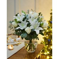 M&S Winter White Rose & Lily
