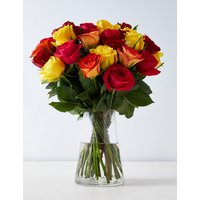Bright Mixed Rose Bouquet