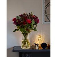 Christmas Chrysanthemum & Lily Bouquet
