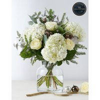 The Collection Christmas Snow White Bouquet