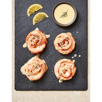 Salmon Roses with Tarragon Hollandaise (4 Pieces) - Last Day to Collect 6th September