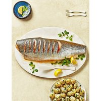 Whole Scottish Lochmuir Salmon (Serves 10-12)