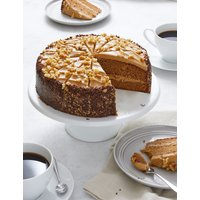 Triple Layer Coffee & Walnut Cake (Serves 14)
