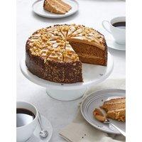 Triple Layer Coffee and Walnut Cake