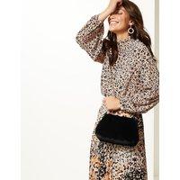 M&S Collection Faux Fur Clutch Bag