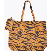 MandS Collection Animal Print Packable Shopper Bag