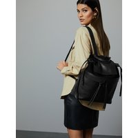 Autograph Leather Backpack Bag