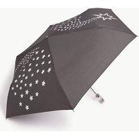 M&s Collection Snow Globe Effect Handle Compact Umbrella