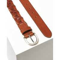 M&S Collection Leather Buckle Hip Belt